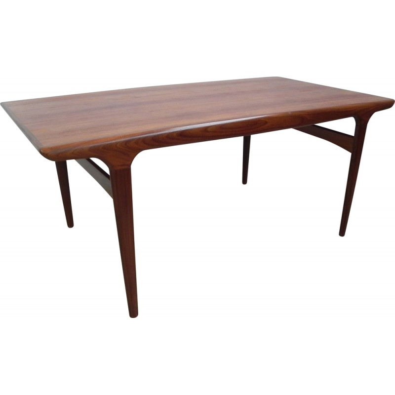 Table scandinave rectangulaire Uldum Mobelfabrik en teck, Johannès ...