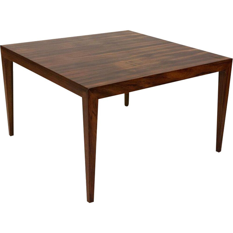 Vintage Coffee Table in Rosewood by Severin Hansen, 1960s