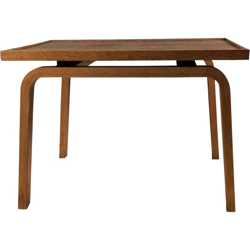 Vintage oak sidetable by Arne Jacobsen for Saint Catherine's College, 1965