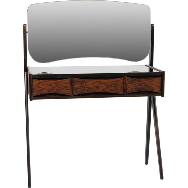 Vintage Rosewood Dressing Table by Arne Vodder 1950