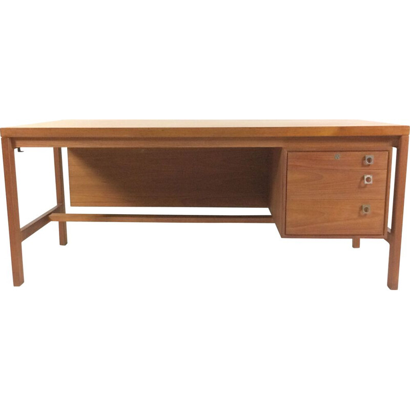 Vintage Arne Vodder Executive Desk in Teak by Sibast, 1960