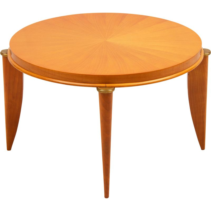 Vintage Art deco cocktail table by Maurice Jallot