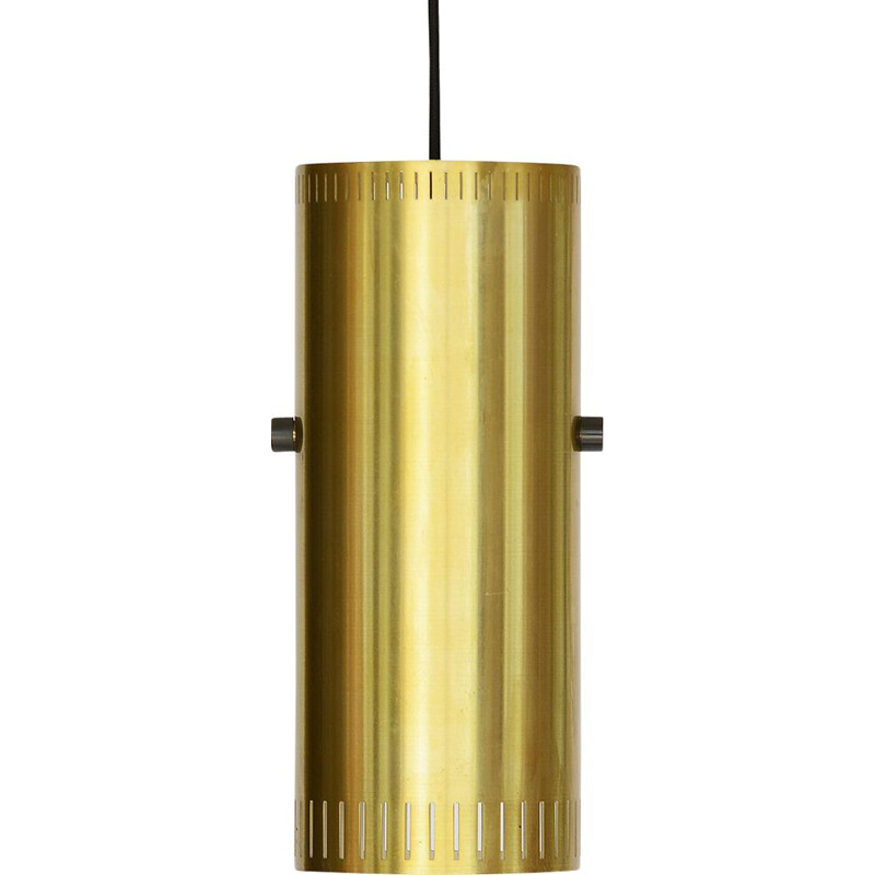 "Vintage Pendant light ""Cylinder I"" by Jo Hammerborg for Fog & Mørup. Denmark 1960"