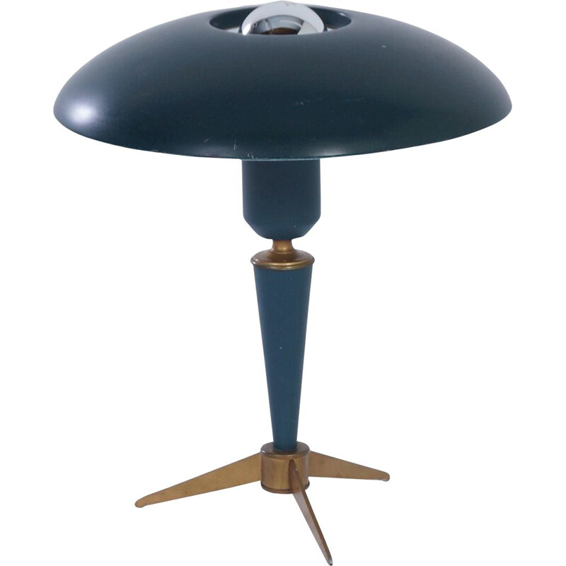 "Vintage Tripod Table Lamp ""Bijou"" by Louis Kalff for Philips, 1950s"