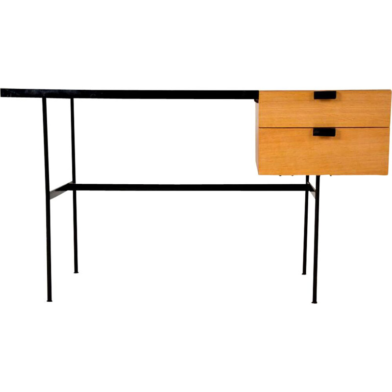 "Desk ""CM 141"" designed by French designer Pierre Paulin for Thonet 1950"