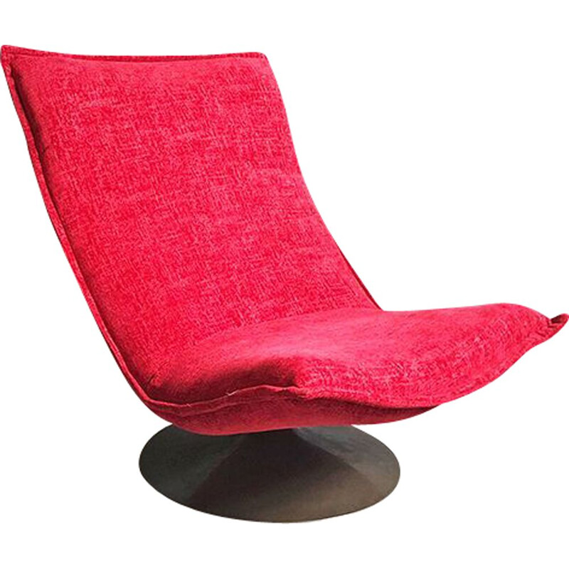 Vintage F980 armchair By Geoffrey Harcourt For Artifort, 1970s
