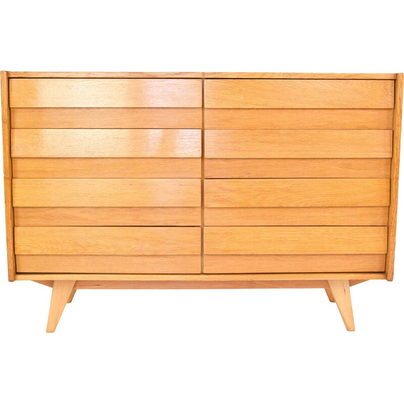 Vintage U-453 chest of drawers for Interier Praha, 1960s