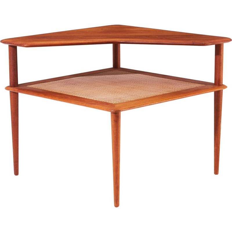 "Vintage coffee table in teak ""Minerva"" by Peter Hvidt - Orla Molgaard-Nielsen, 1960s"