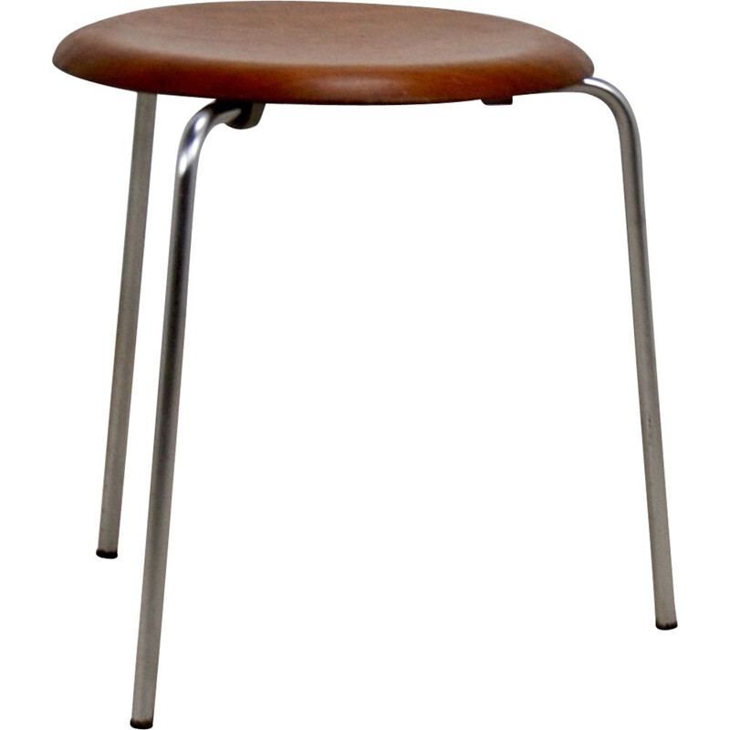 Vintage stool model 3170 by Arne Jacobsen for Fritz Hansen, 1950's