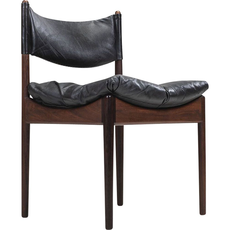 Vintage rosewood chairs by Kristian Solmer Vedel