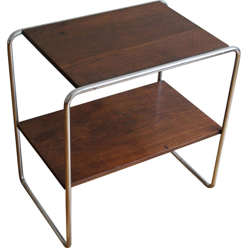 Vintage tubular side table