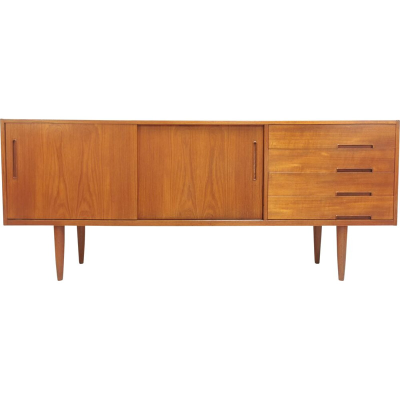 Vintage teak sideboard by Nils Jonsson for Troeds