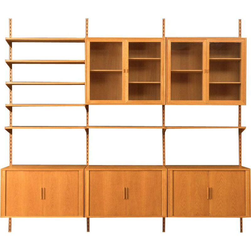 Vintage wall shelving system by Kai Kristiansen, 1960