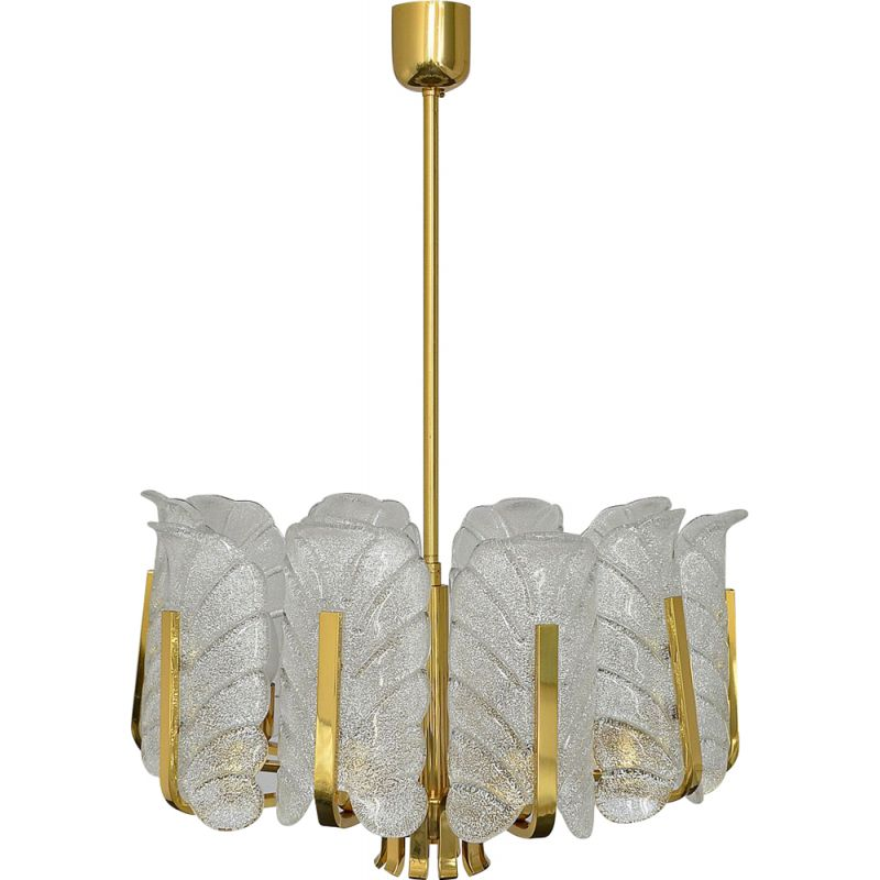 Vintage chandelier by Carl Fagerlund for JSB, 1960s