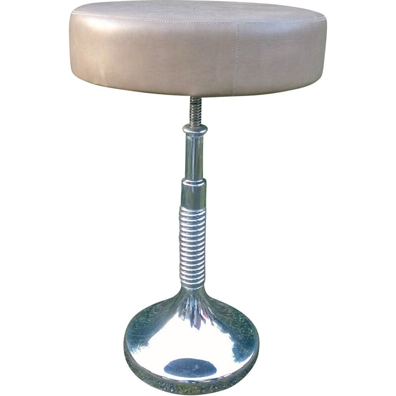 Vintage industrial stool, 1970