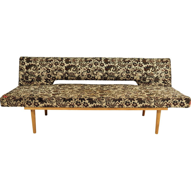 Vintage daybed sofa by Miroslav Navratil, 1970s