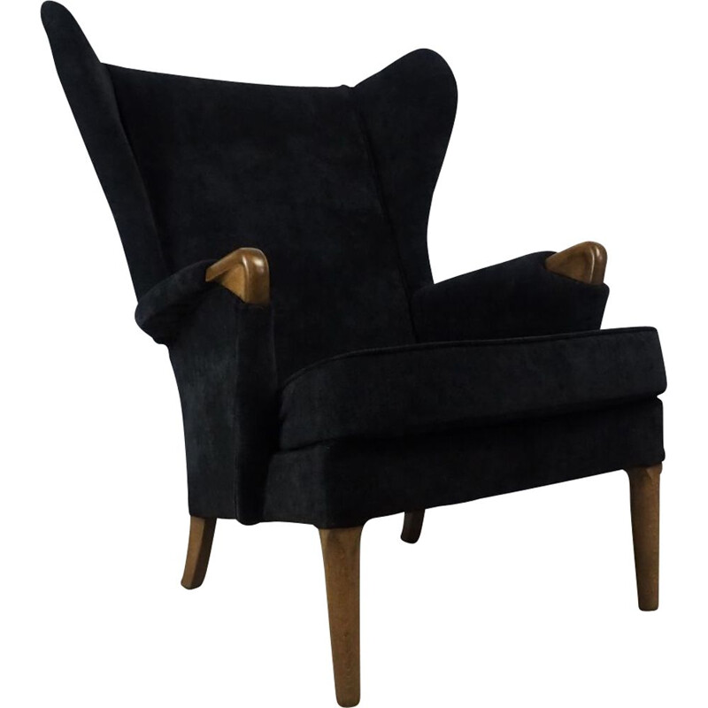 Wingback vintage armchair from Parker Knoll, 1960s