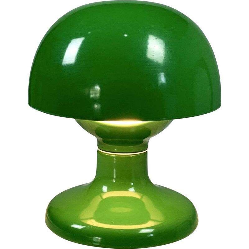 Vintage Green Jucker 147 Table Lamp by Tobia & Afra Scarpa for Flos, 1960s