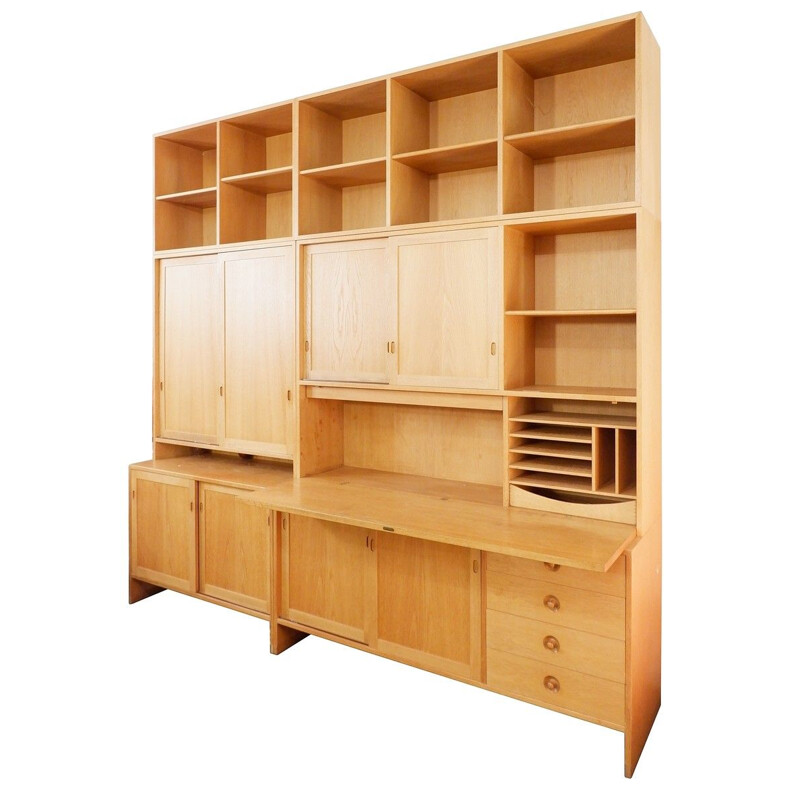 Ry Series wall set by Hans Wegner for Ry Furniture, 1960s