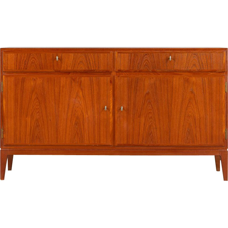 Vintage teak Sideboard model 5 by Gunni Omann for Omann Jun Møbelfabrik, 1960s