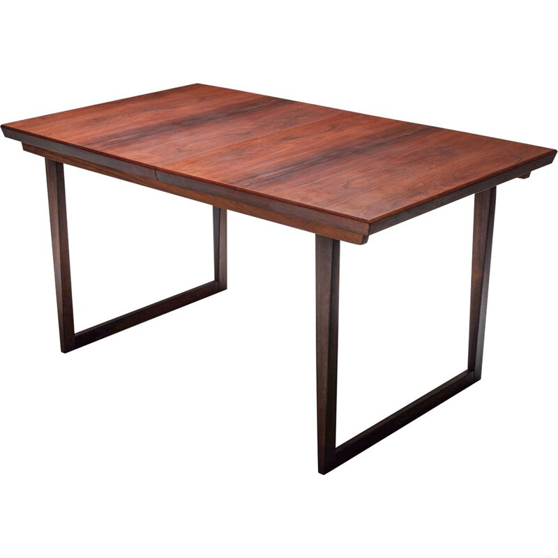 Vintage rosewood Dining Table by Aksel Kjersgaard from Kai Kristiansen, 1960s