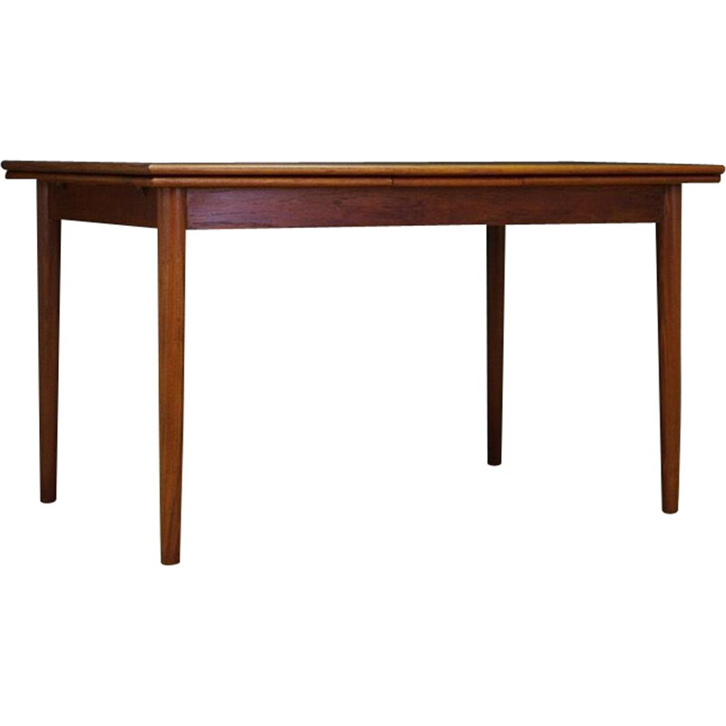 Vintage dining table in teak, Denmark, 1960-70s