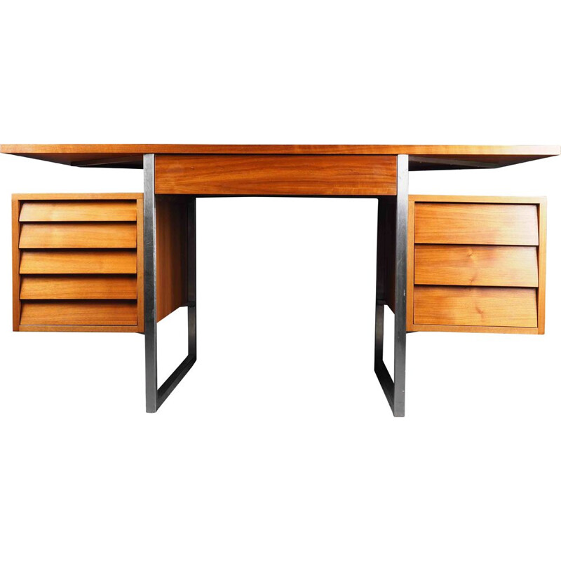 Rosewood Danish Style desk by Merrow & Associates 1960s