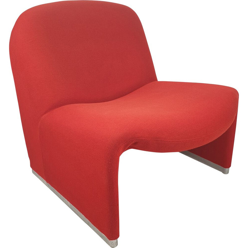 Vintage Alky Lounge Chair by Giancarlo Piretti for Artifort, 1970s