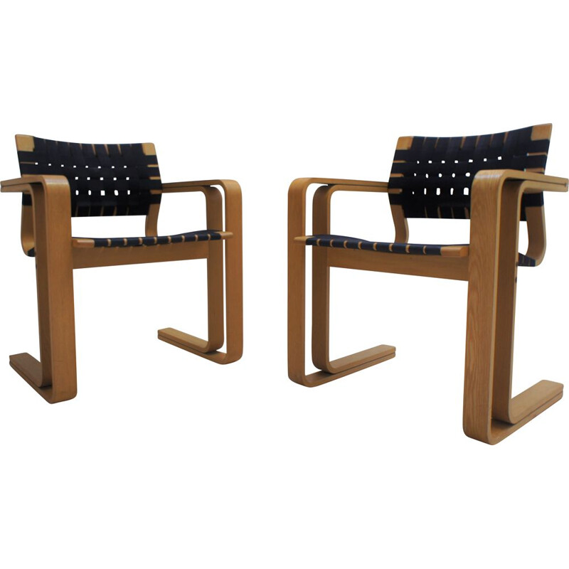 Pair of vintage armchairs by Magnus Olesen