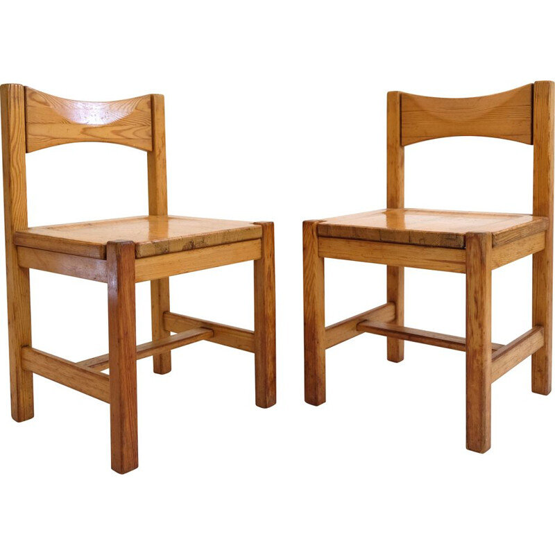 Pair of vintage Hongito chairs by Ilmari Tapiovaara, 1960-70s