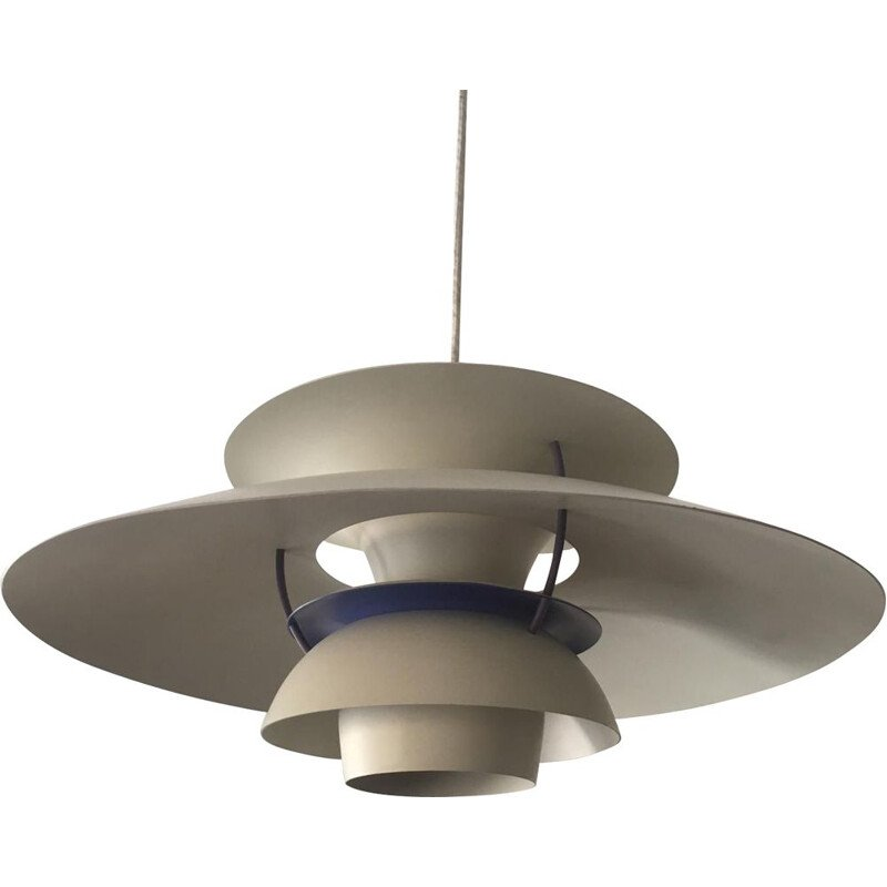 Vintage pendant light PH5 by Poul Henningsen for Louis Poulsen