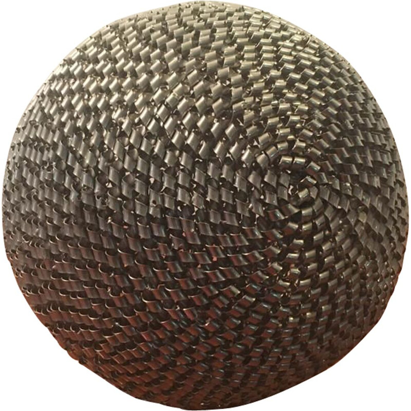 Vintage Sculpture Steel Ball