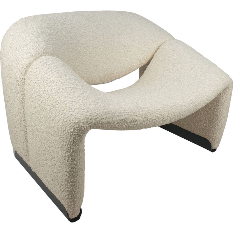 Vintage F598 Groovy Chair by Pierre Paulin for Artifort, 1980