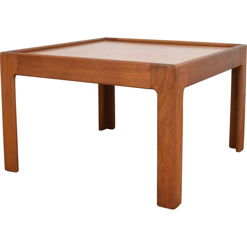 Vintage Danish teak coffee table by Illum Wikkelsø