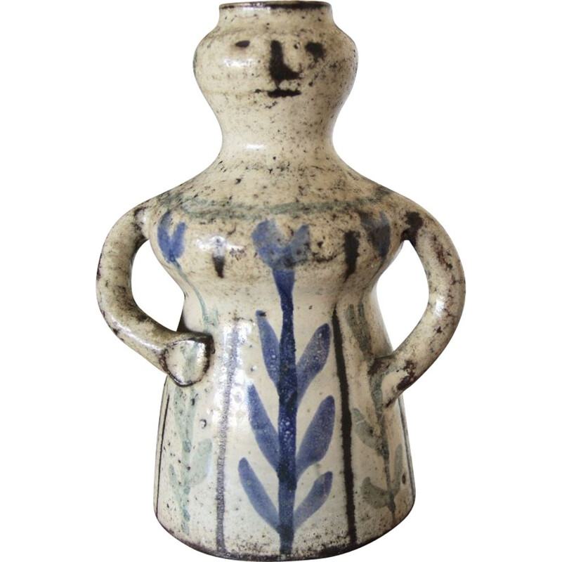 Anthropomorphic vintage ceramic by G Reynaud