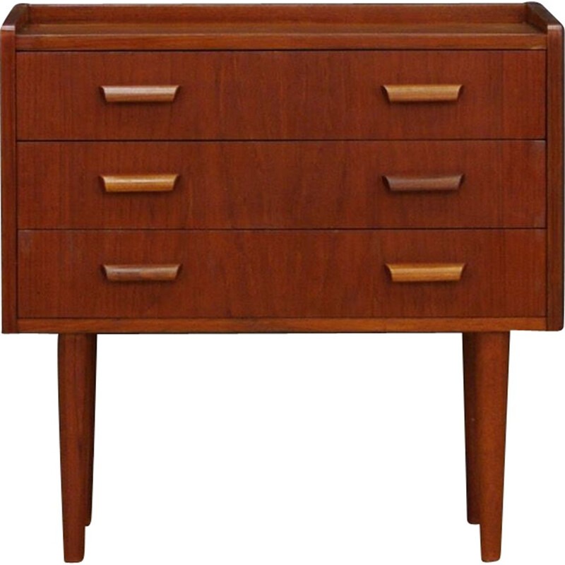 Vintage chest of drawers in teak, Danish design, 1960