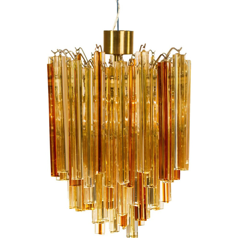 Vintage chandelier Venini in Murano glass, 1950