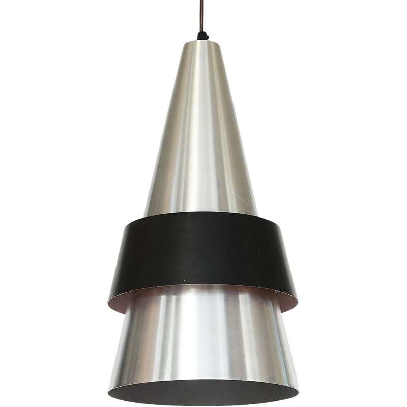 "Vintage pendant light ""Corona"" by Jo Hammerborg for Fog & Mørup, Denmark, 1960"