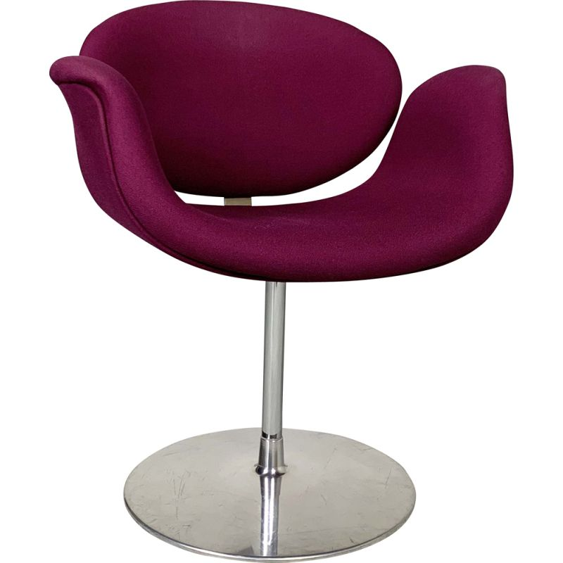 Purple Tulip Chair by Pierre Paulin 1970s