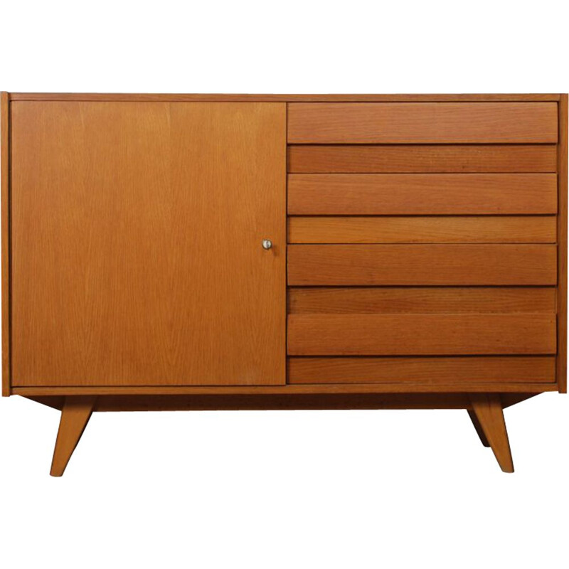 Vintage Eastern European chest of drawers designed by Jiri Jiroutek, 1960
