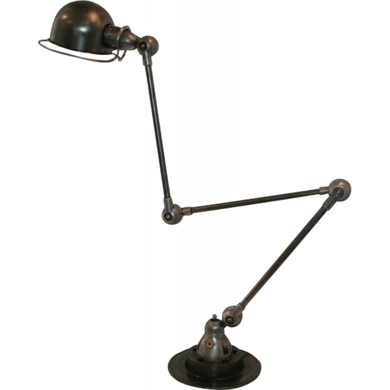 Jielde Industrial Stand Lamp With 3 Arms Jean Louis Domecq 1950s