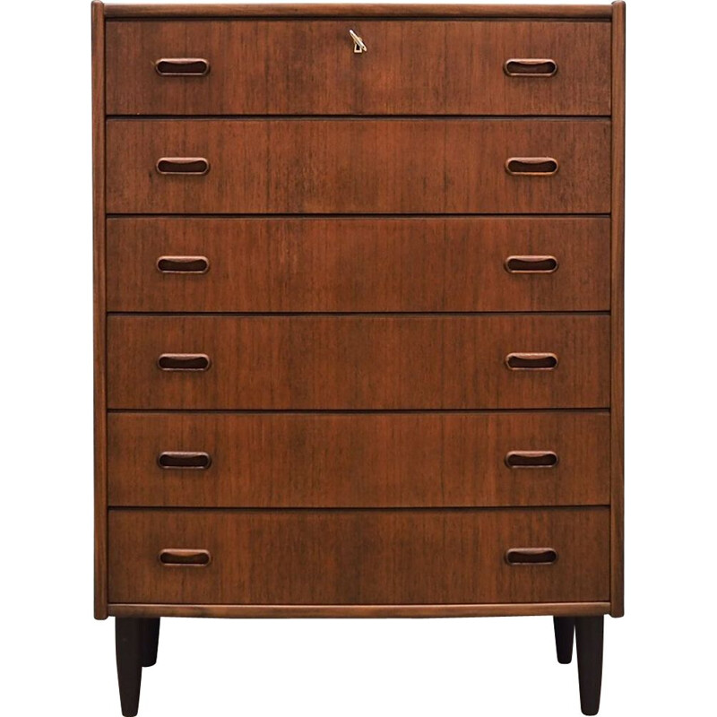 Vintage Scandinavian design teak chest of drawers 60 70