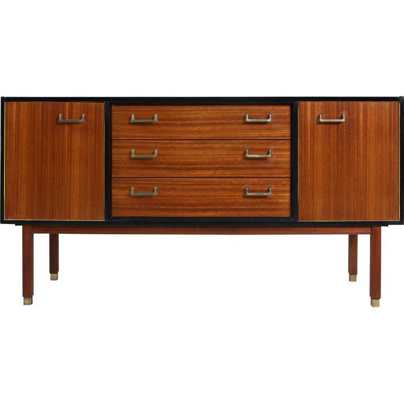 Sideboard, manufactured in the u.k. Mid-century 1960s