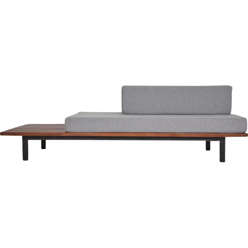 Vintage Cansado bench by  Charlotte Perriand circa 1950