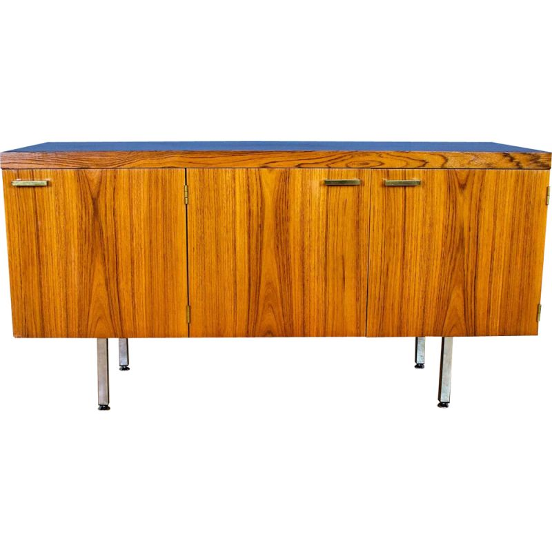 Vintage Rosewood and Brass Sideboard, 1970s