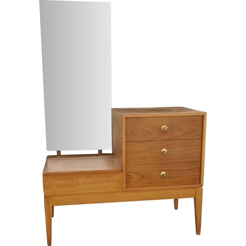 English teak dressing table by Uniflex 1960