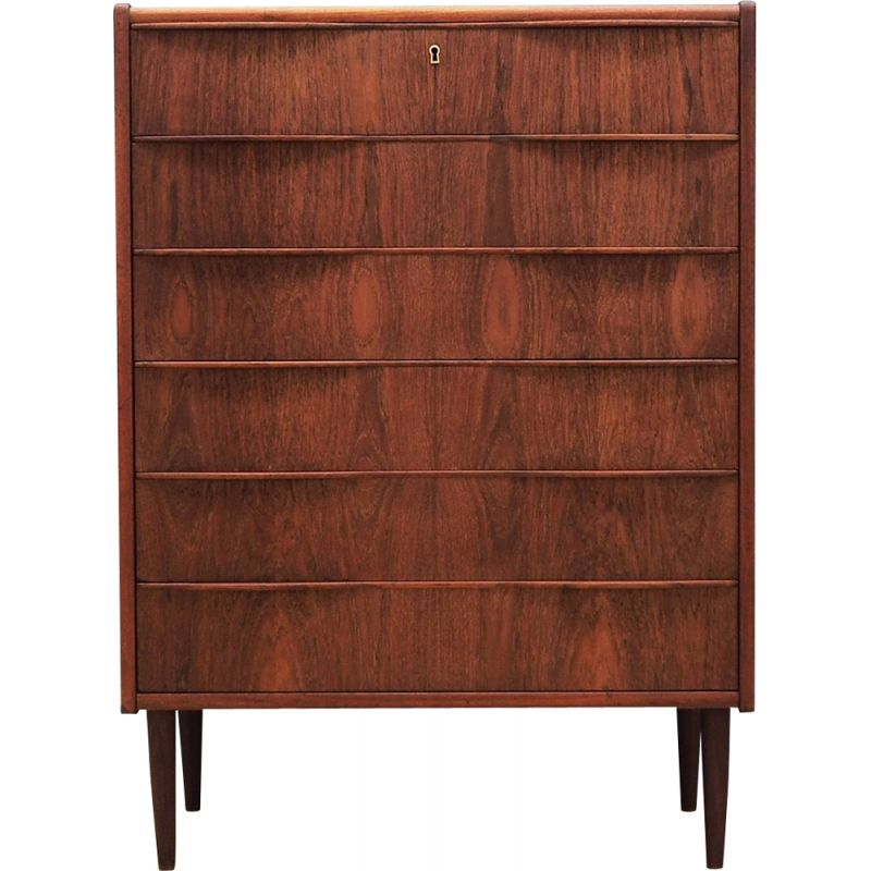 Chest of drawers Vintage in Danish teak design 1960 and 70,