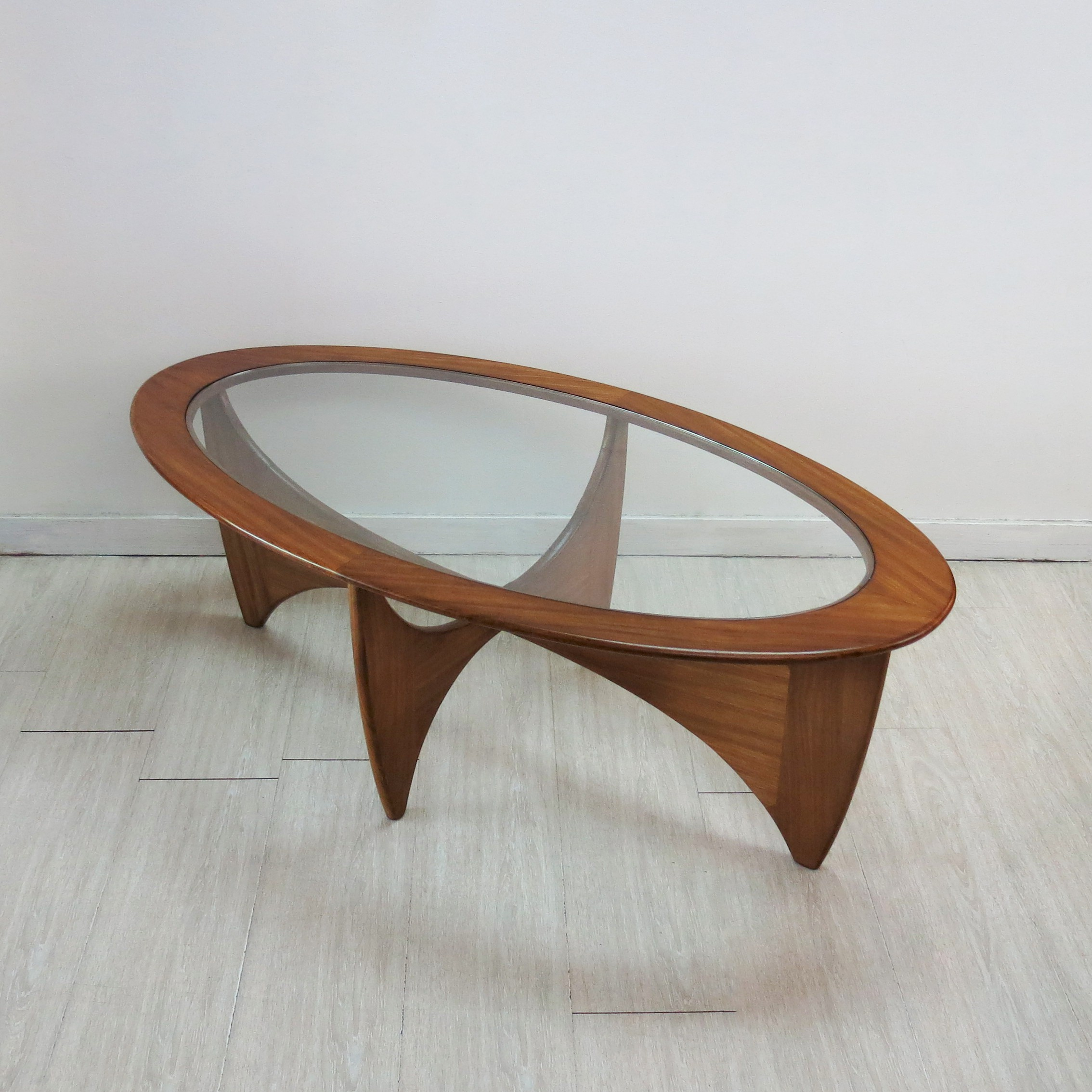 G plan astro oval coffee table in teak and glass victor wilkins g plan astro oval coffee table in teak and glass victor wilkins previous next geotapseo Choice Image