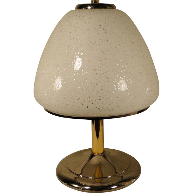 Table lamp in Murano glass, 1980