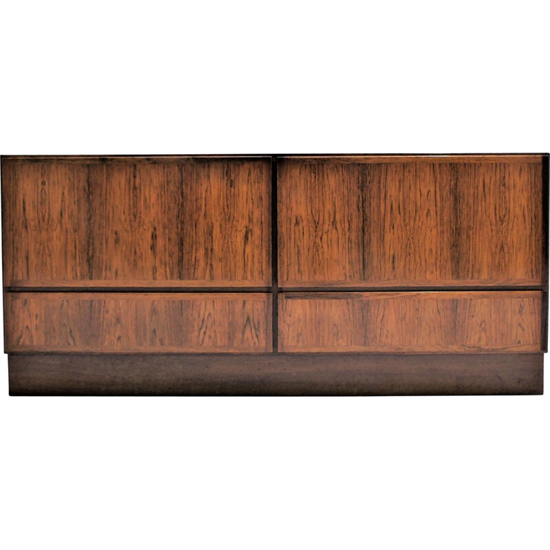 Large vintage chest of drawers in rosewood Denmark
